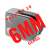 10 Pack 6+mm Glass Clamps