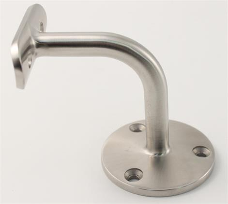 Satin Polished Stainless Steel Grade 316 Handrail Wall Brack
