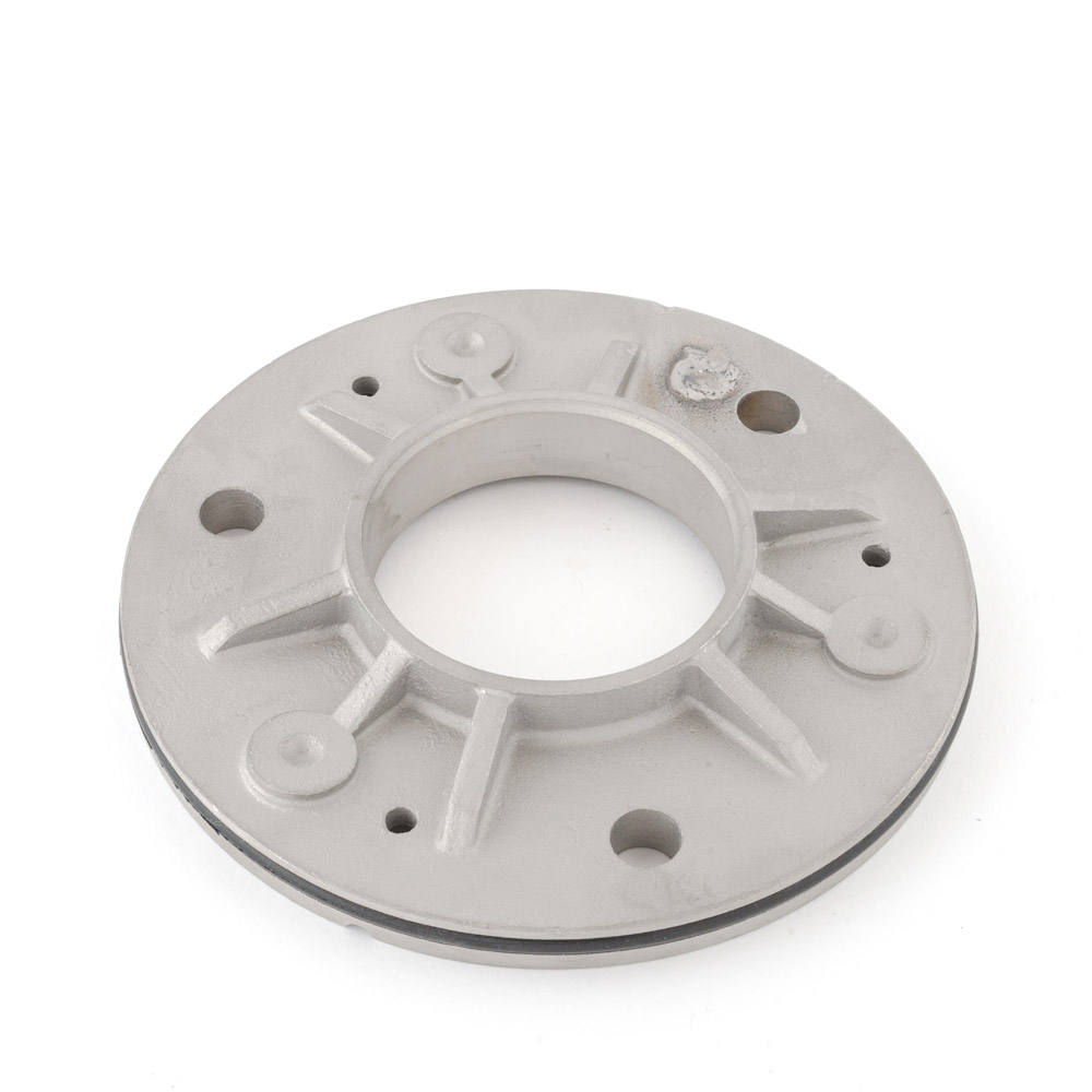 Weldable base plate