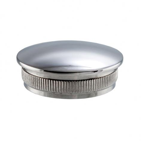 Mirror Polished Stainless Steel Radius End Cap for Balustrad