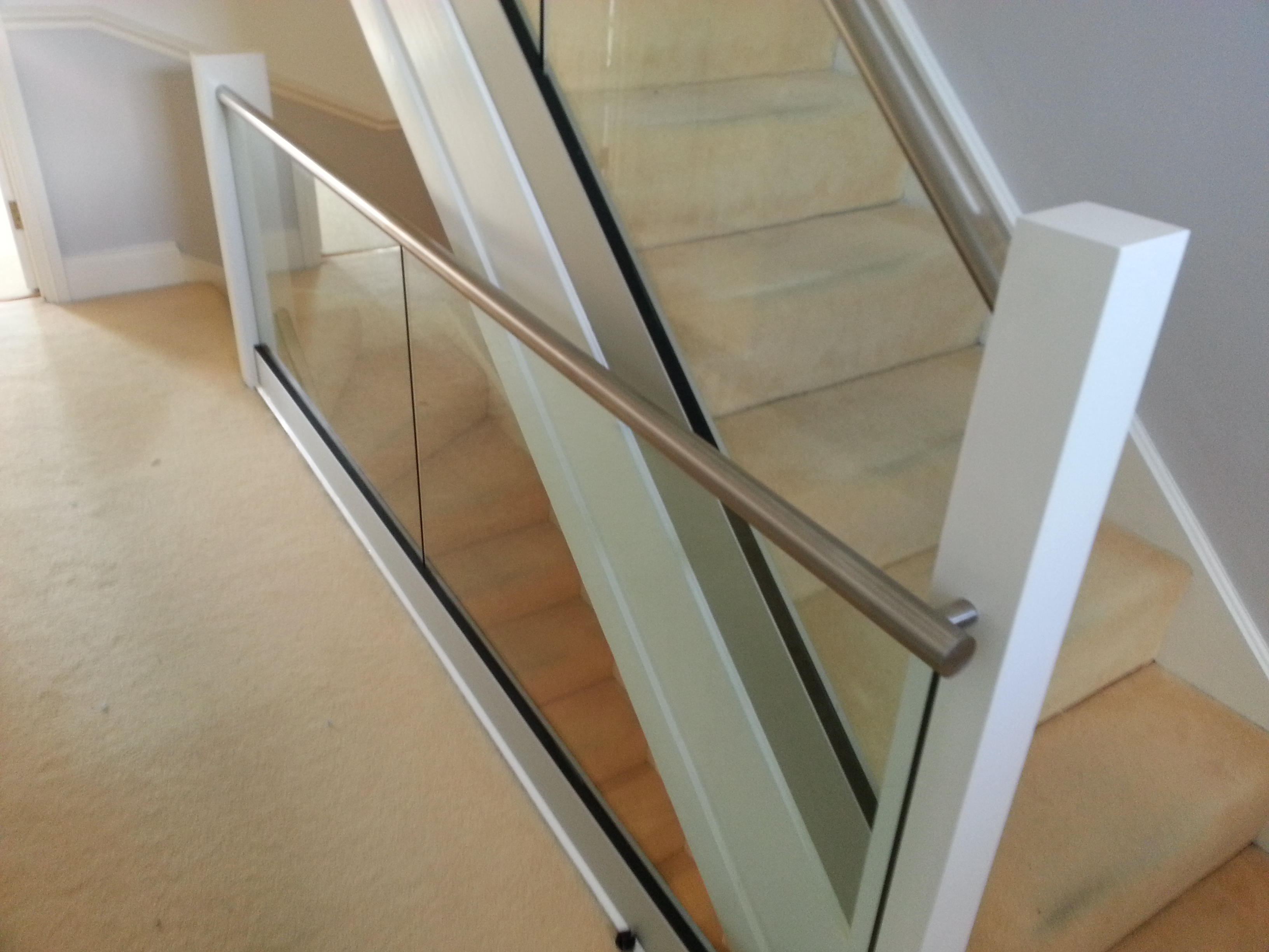 Uk Stainless Steel Glass Amp Wire Balustrade Design Seagull